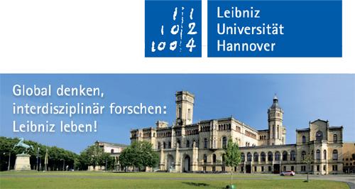 Gottfried-Wilhelm-Leibniz-Universität Hannover - Logo