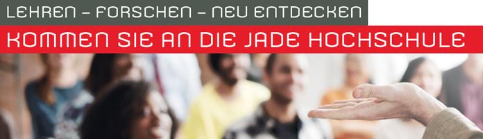 Professur (m/w/d)   - Jade Hochschule - Header