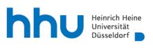 Professur (W1) für Klinische Pharmazie (ohne Tenure Track) - Heinrich-Heine-Universität Düsseldorf - Logo