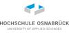 Wissenschaftliche Mitarbeiter*in für die Unterstützung bei der Datenerhebung und -auswertung im Rahmen von Befragungen zu dualen Studium - Hochschule Osnabrück - Logo