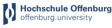 Professur (W2) für Energieinformatik und Grundlagen der Energietechnik - Hochschule Offenburg - Logo