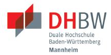 Professur (W2) für Wirtschaft - International Business - DHBW MANNHEIM - Logo