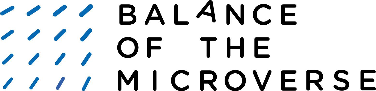 Balance of the Microverse - Logo