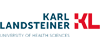 Professur für Radioonkologie unter besonderer Berücksichtigung der Partikeltherapie - Karl Landsteiner-Privatuniversität - Logo