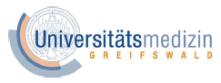 Professur (W2) für Diagnostische Humangenetik - Universitätsmedizin Greifswald - Logo