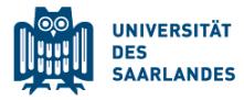 Scientific Director and Head of Department (f/m/x) - Saarland University - Logo