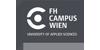 Vizerektorat (w/m/x) Forschung & Entwicklung - FH Campus Wien - Logo