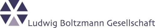 Ausschreibung der Leitungsfunktion am  Ludwig Boltzmann Institut für Experimentelle und Klinische Traumatologie - Ludwig Boltzmann Gesellschaft - Logo